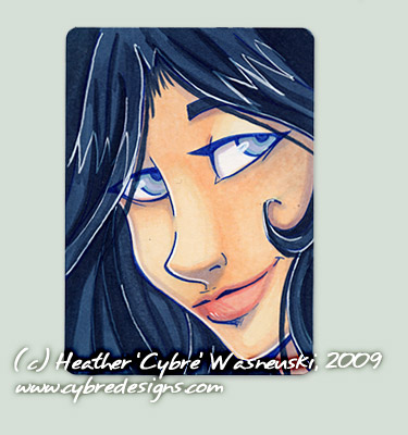 ACEO :: Try One by cybre