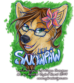 Badge :: Leila Snowpaw