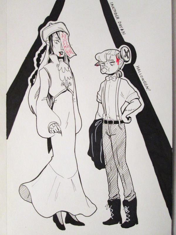 MARK: Halloween Prom by kimikiwi48