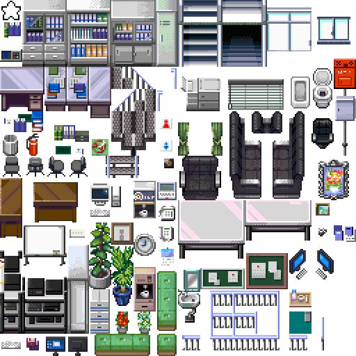 Rpg Maker Vx Ace Living Room Tilesets