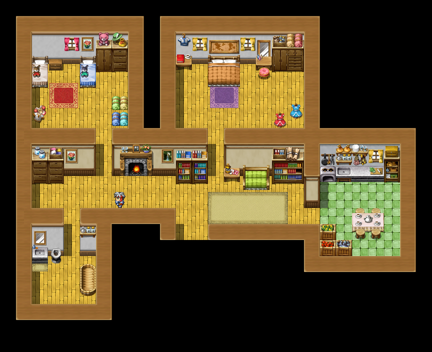 Rpg Maker RTP Edits Example Map by milkian on DeviantArt