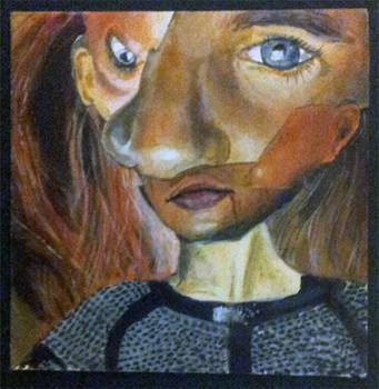 Abstract Portrait Acrylic
