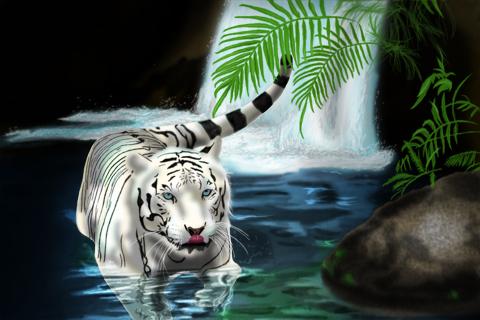 Noche de Garras y Colmillos White_tiger_by_Glaudur