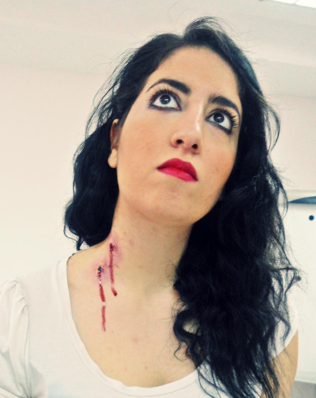 Vampire Bite Rosemakeup Deviantart
