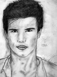 Taylor Lautner aka Jacob Black by SweetblossomsMJ96