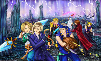 Dissidia Aces: Final Round by SophieBrigitteXD
