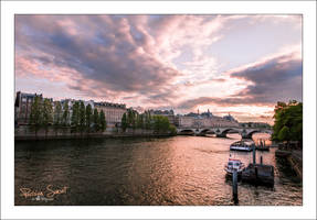 Parisian Sunset by sG-Photographie