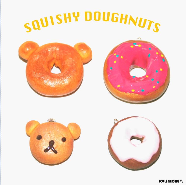 Squishy Doughnuts by JollenelovesPhoenix on DeviantArt