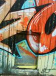 Cambridge Graffiti Closeup by theRealRichard