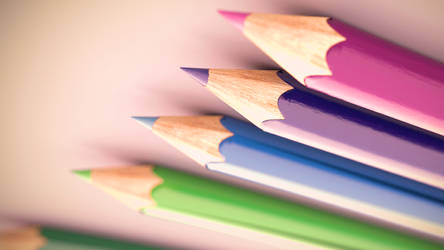 Colourful Pencils by theRealRichard