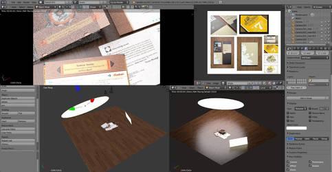 CD Cover lighting setup by theRealRichard