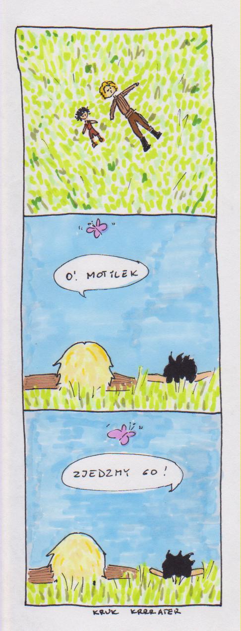 Motylek by Krrrater