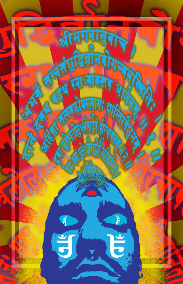 Aum - Red Yellow Blue by heatshedfogphase