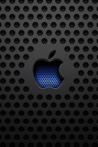 Apple Dark Mesh iPhone by heatshedfogphase