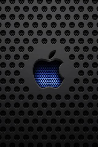 Apple Dark Mesh iPhone by heatshedfogphase