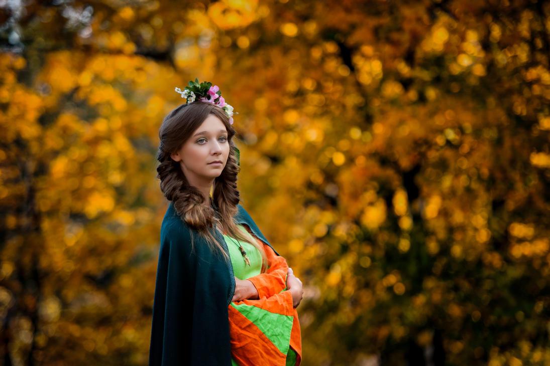 Autumn princess by Dpakon