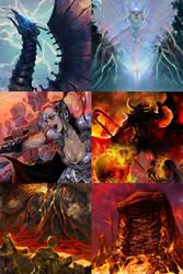 Card illustrations 2 by dmsdud