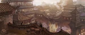 a town of dawn