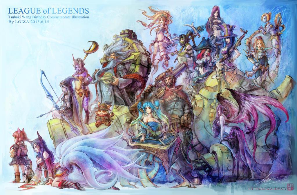League of Legends by jeff19840319