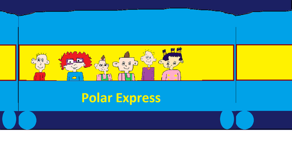 the rugrats riding the polar express by tommypickles1992 on deviantart rh tommypickles1992 deviantart com polar express clipart the polar express clipart