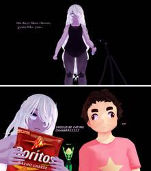 [SU x Undertale Comic] Chaapssss