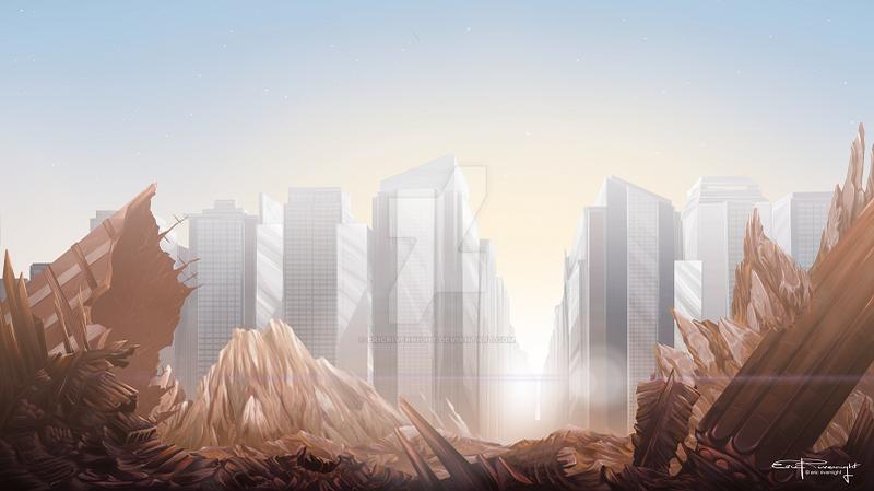A New Dawn by EricRivernight