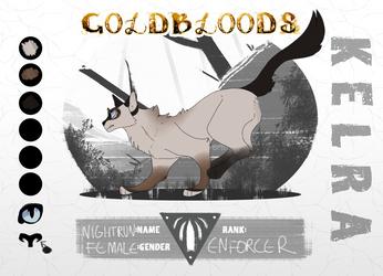 GOLDBLOODS || NIGHTRUN || Kelra || Enforcer by Marietsloth