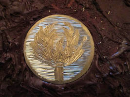 Brass chisel work