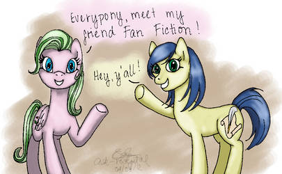 Rose Petal and Fan Fiction by alisterbabeh2006