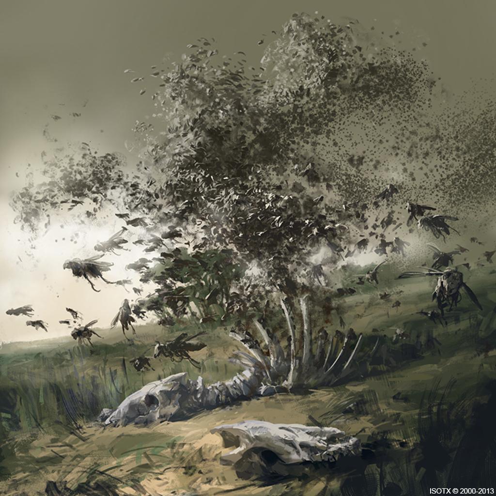 Swarm of Locust by ISOTXART on DeviantArt