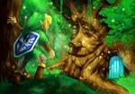Oracle of Seasons, the Maku Tree