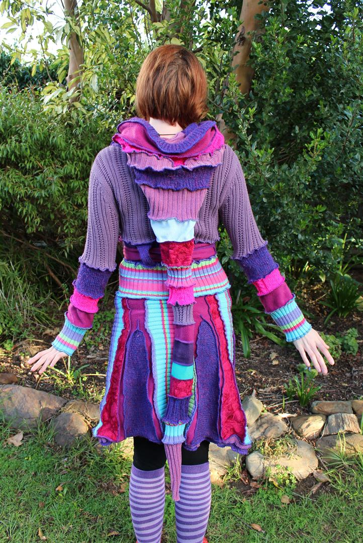 Recycled Sweater Dress by Faeriegem