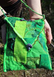 Recycled Fabrics Forest Bag