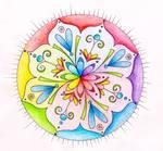 Rainbow Healing Mandala
