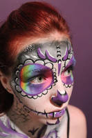 Day of the Dead Body Paint 02