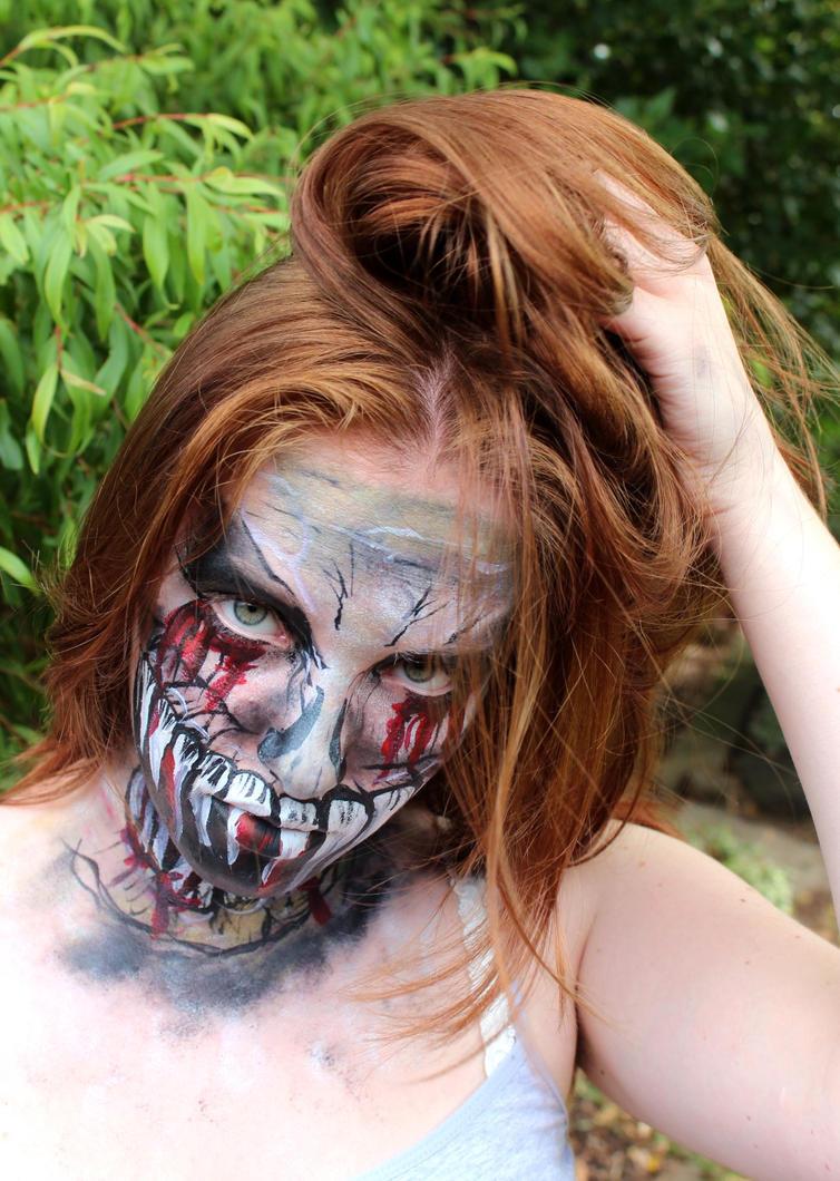 Demon Face Paint by Faeriegem
