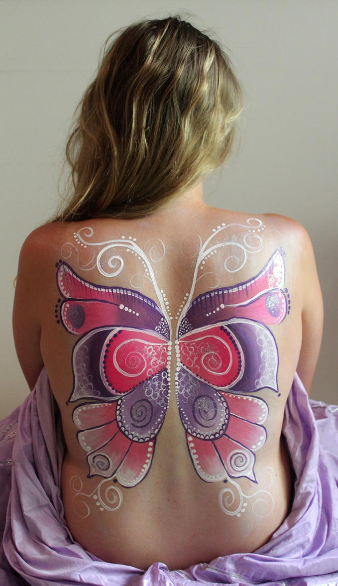 Faerie Wings Body Paint by Faeriegem