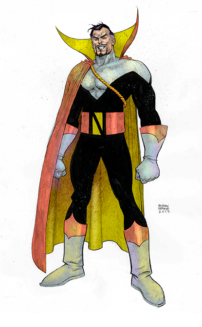 Andrew Robinson Count Nefaria  by alphatrope