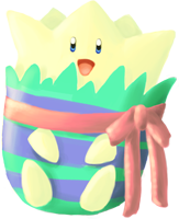 Easter Togepi by Sma-chan