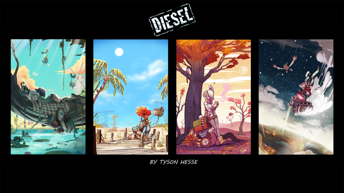 Diesel Seasons Wallpaper By Elements212