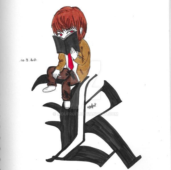 Chibi Death Note 4 : Light/Kira By MDufruit On DeviantArt