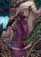 The Hermit Takes Council by EzekielCrowe