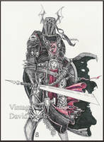 Black Knight Unfinished by EzekielCrowe