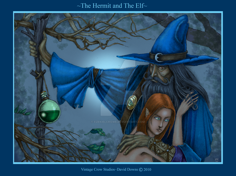 The Hermit and the Elf by EzekielCrowe
