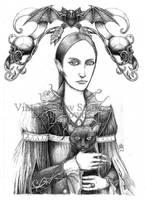 Carmilla Sketch by EzekielCrowe