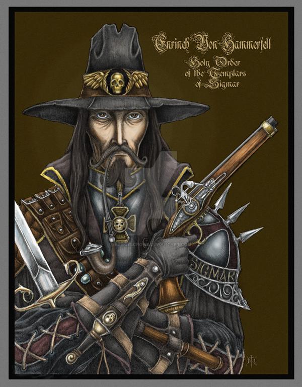 Witch Hunter Portrait Color by EzekielCrowe
