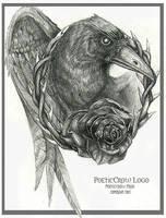 PoeticCrow Logo by EzekielCrowe