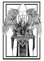 Reaper Arch Angel Unfinished by EzekielCrowe