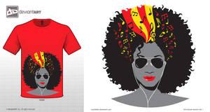 Music in my Head - T-Shirt Design