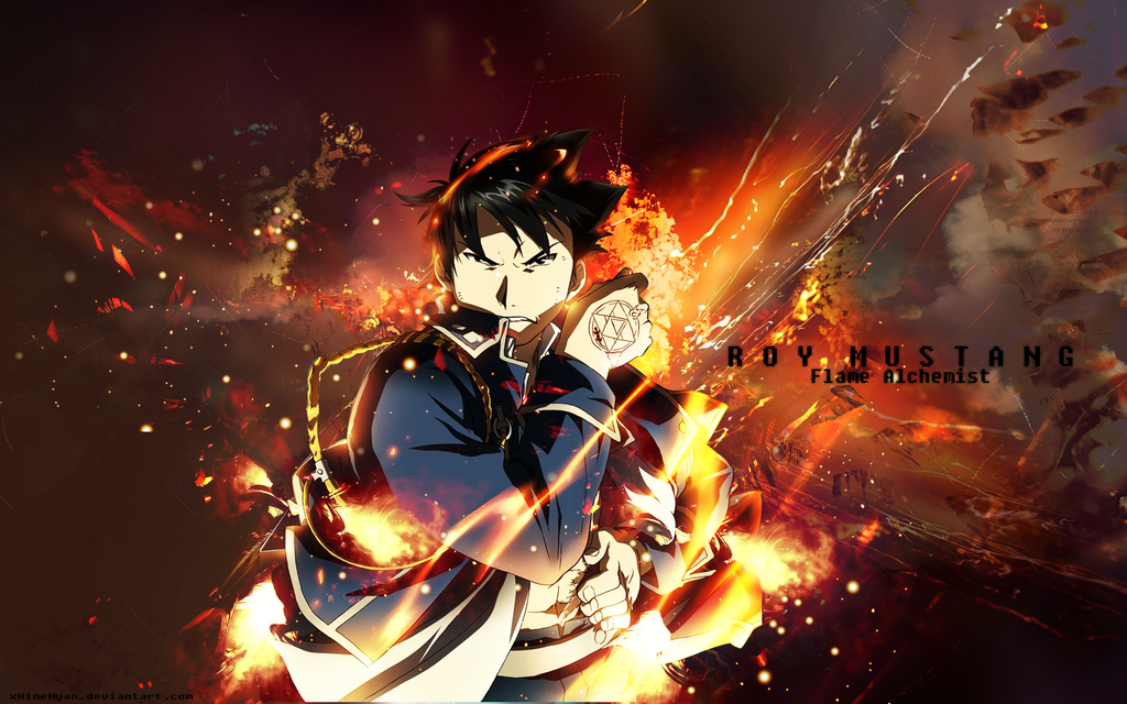 Roy Mustang Wallpaper By Xhimenyan On Deviantart